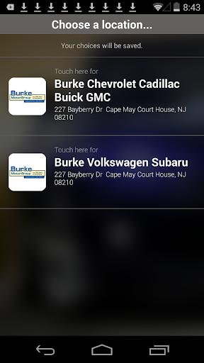 Burke Motor Group DealerApp