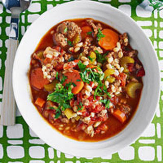 Beef and Barley Stew.