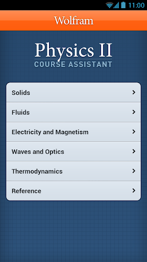 【免費教育App】Physics II Course Assistant-APP點子