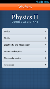 Physics II Course Assistant- screenshot thumbnail