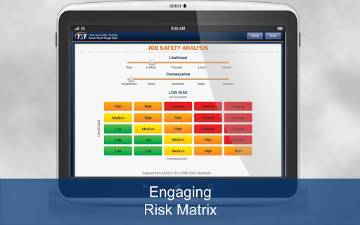 Job Safety Analysis - Tablet