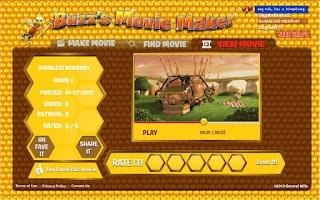 Screenshot of Buzz's Movie Maker