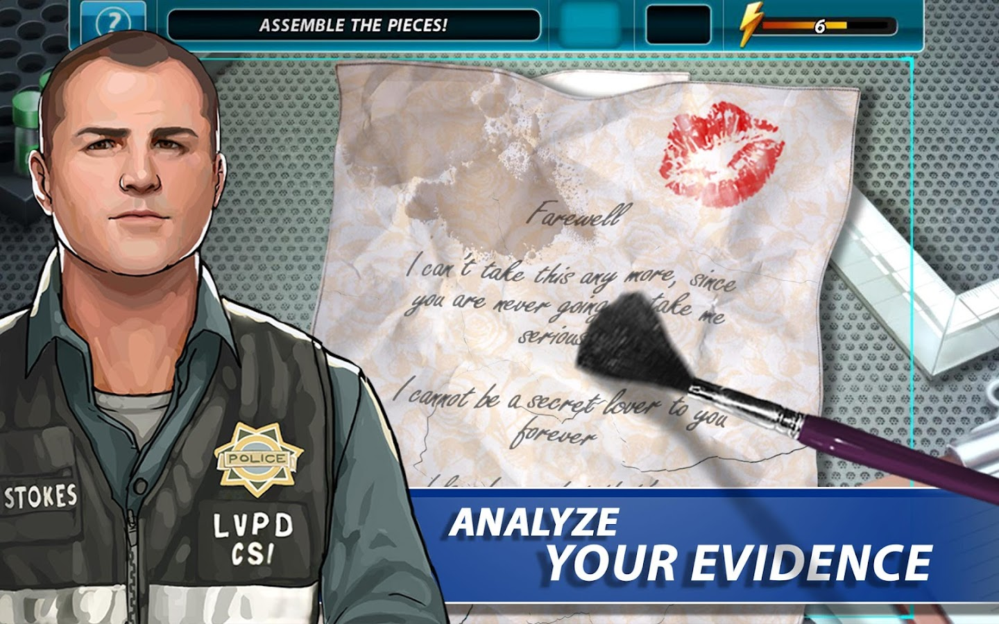 CSI: Hidden Crimes - screenshot