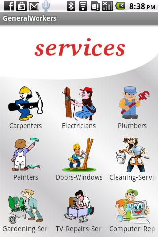 General Services - screenshot