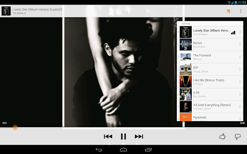 Google Play Musique - screenshot thumbnail