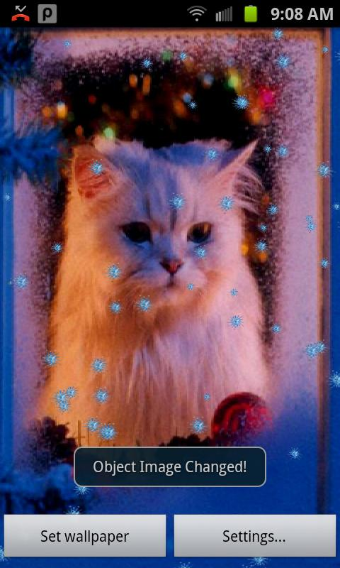 Free Christmas Live Wallpaper - screenshot