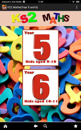 Key Stage 2 KS2 Maths-Yr 5 6