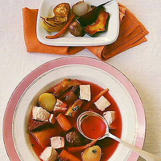Roast Chicken and Vegetable Soup.