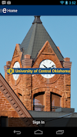 Screenshot of University of Central Oklahoma