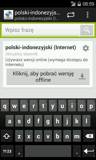 Polish-Indonesian Dictionary