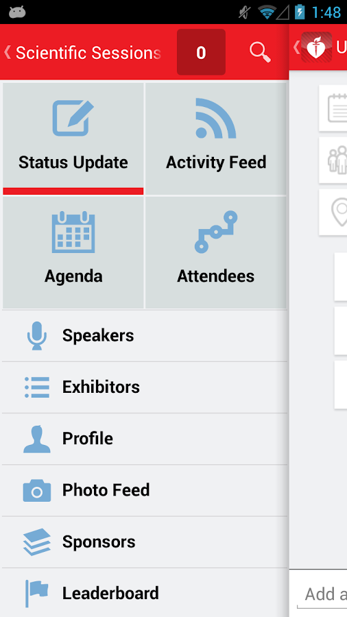AHA Scientific Conferences - screenshot