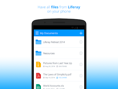 Liferay Sync- screenshot thumbnail