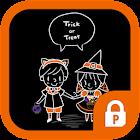 Emily & Jason(happy halloween) icon