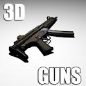Guns –  3D Gun Free logo
