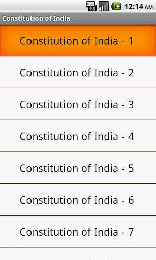 Constitution of India - MCQ