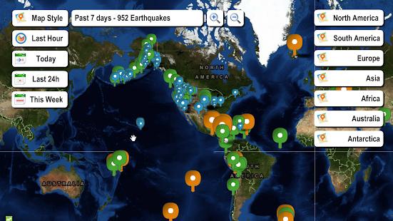 Live earthquake map apps on google play screenshot image gumiabroncs Choice Image