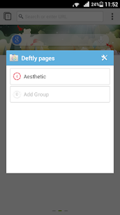Deft Pages for Next Browser - screenshot thumbnail