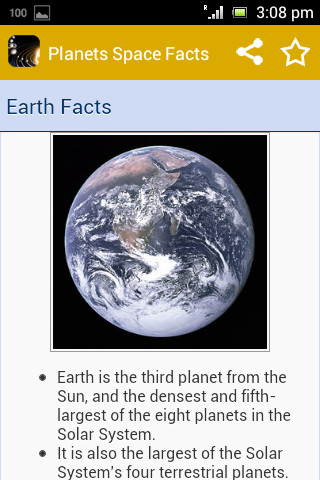 無料书籍Appの惑星の宇宙の事実|記事Game