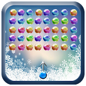 Snow marble bubble shooter