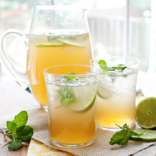 Mint Lime Tea Cooler.