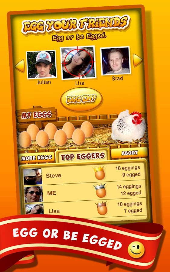 Egg Your Friends- screenshot