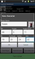 Screenshot of Combat Assistant (Free)