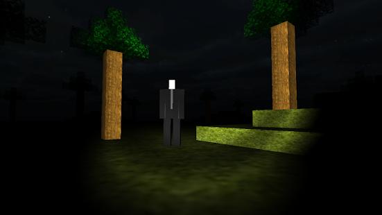Slender Man Blocks 冒險 App-愛順發玩APP