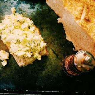 Open Face Egg Salad Sandwich Melt Recipe