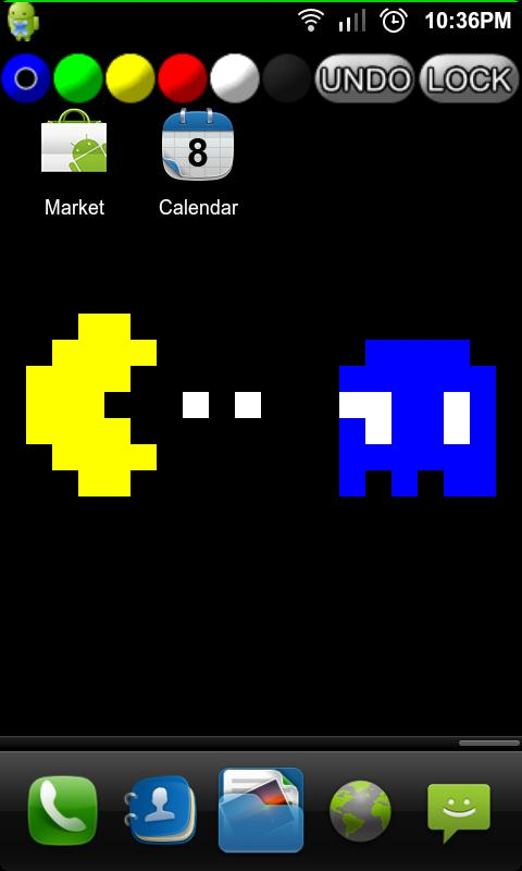 PixelNote Live Wallpaper- screenshot