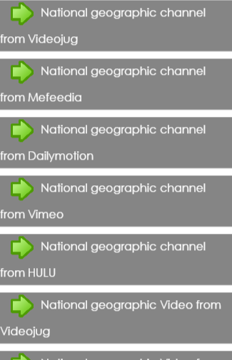 NationalGeographic Video Guide