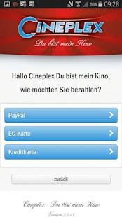 CINEPLEX Kinoprogramm - screenshot thumbnail