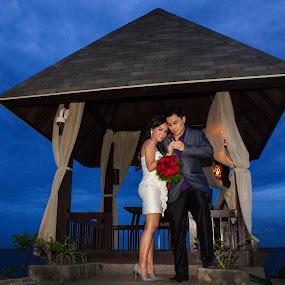 Shangrila Wedding by Ryan Lemil Escarpe - Wedding Bride & Groom ( cebu wedding, mactan, cebu photographers, cebu photography, beach wedding, shangri-la )