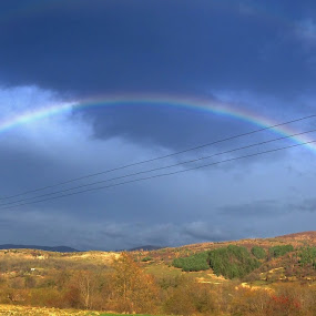 Full rainbow by Sebastian Mezei - Instagram & Mobile iPhone ( rainbow )