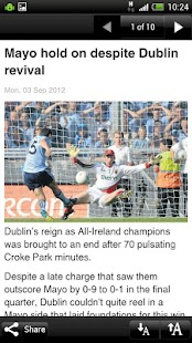 Independent.ie - screenshot thumbnail