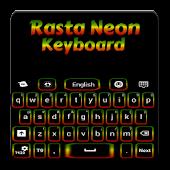 Rasta Neon Keyboard