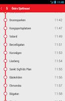 Screenshot of På Språng för Västtrafik