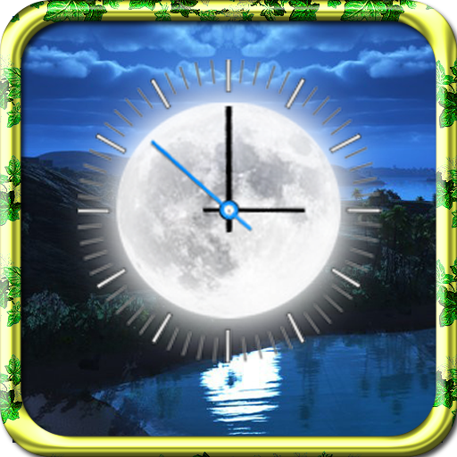 Moon Clock Live Wallpaper Apps On Google Play