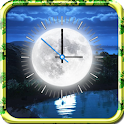 Moon Clock Live Wallpaper icon