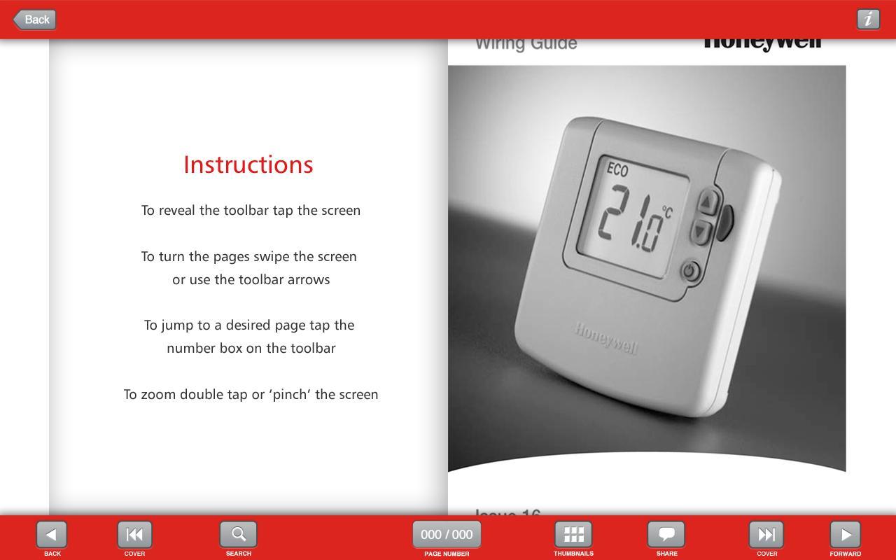 Wiring Guide by Honeywell(Tab)- screenshot