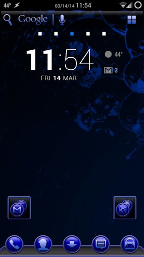TrueBlue Apex/ADW/Nova 1.1.9 screenshots 4