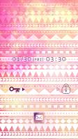 Screenshot of Cute wallpaper★geometric pink