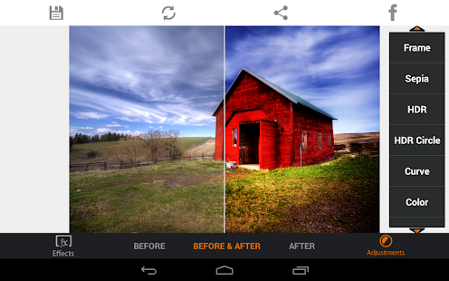 HDR FX Photo Editor Pro - screenshot thumbnail