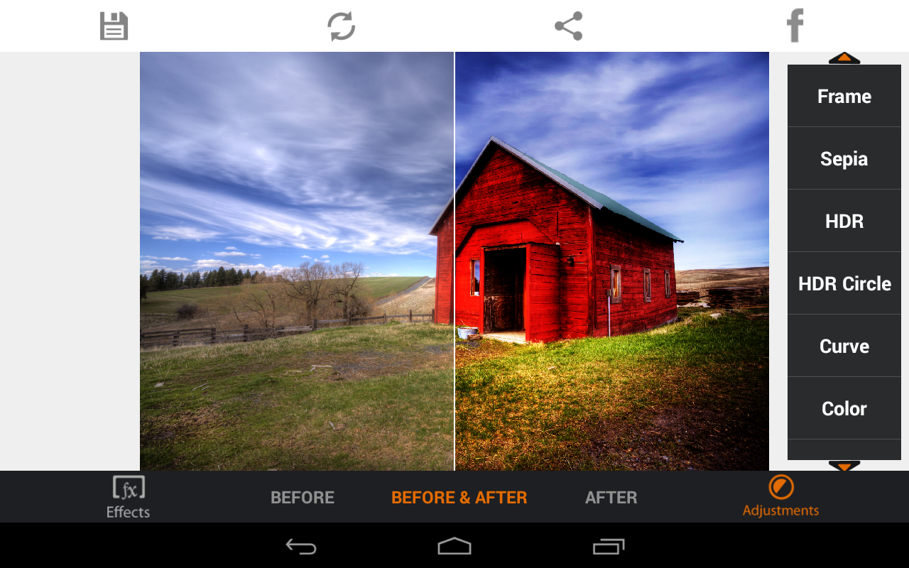 Photo Editor HDR FX Pro- screenshot