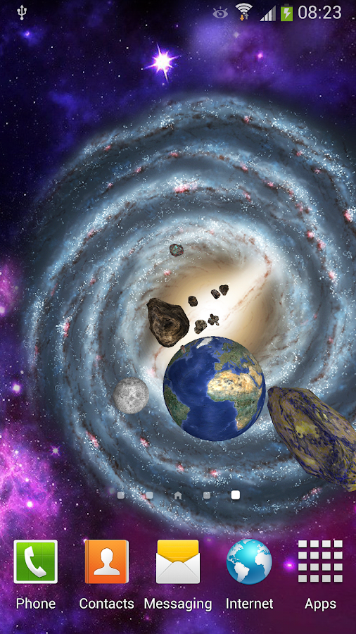 3d space live wallpaper android apps on google play