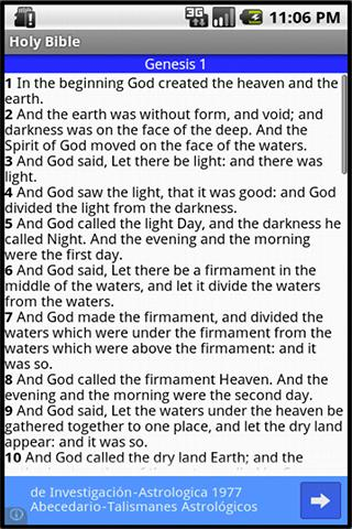 Holy Bible Free- screenshot