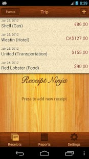 Receipt Ninja - Split Expenses - screenshot thumbnail