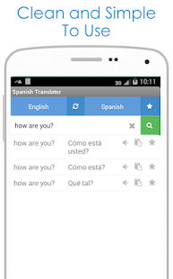 Spanish Translator - screenshot thumbnail