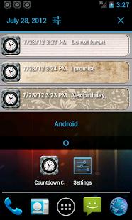 Countdown calendar- screenshot thumbnail