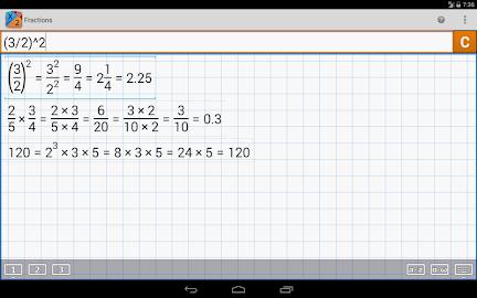 Fraction Calculator MathlabPRO Screenshot 16