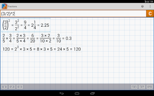 Fraction Calculator MathlabPRO Screenshot 16
